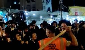 6 עצורים ופצוע בהפגנות הרכבת בבר אילן