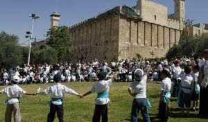 יהודים בחברון, בסמוך למערת המכפלה