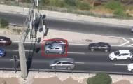 קשיש נסע ב'רוורס' בכביש בגין וזומן לחקירה