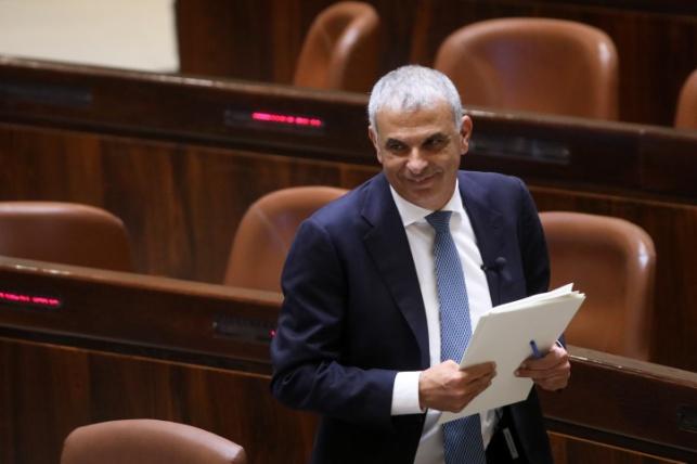 שר האוצר משה כחלון - תקציב 2019 אושר בכנסת בקריאה ראשונה