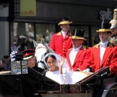 חתונה הממלכתית בבריטניה, הנסיך הארי ומייגן מרקל