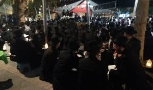 צפו: חסידי גור מקוננים ברחובות העיר ערד