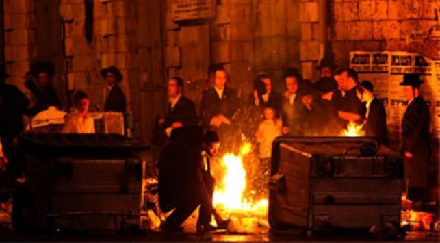 ההפגנה בכיכר השבת. צילום: פלאש 90