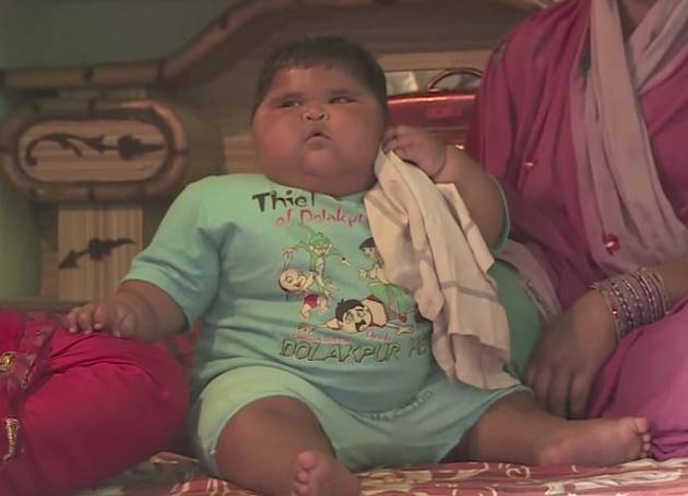 אליה סלים, התינוקת השמנה בעולם