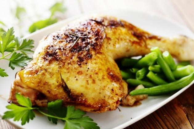 לארוחת הצהריים: עוף ברוטב חרדל