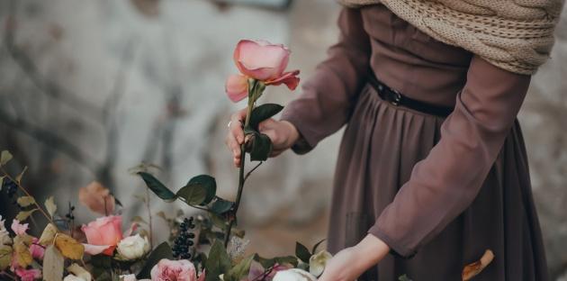 פרחים.. - התודה הגדולה וזר הפרחים הקטן