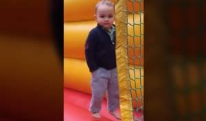כנראה אחד התינוקות היציבים בעולם
