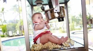 אילוסטרציה - ארצות הברית: תינוקת נחנקה למוות מפופקורן