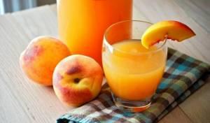 משקה אפרסקים