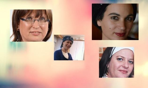 מאיה לב, מרילין ווינג, עדנה נבון ויונת פריימן
