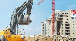 """משרד בינוי והשיכון אתר בנייה - הנדל""""ן הוסיף לבעבע במחצית הראשונה של השנה: זינוק של 30% בביקוש לדירות חדשות"""