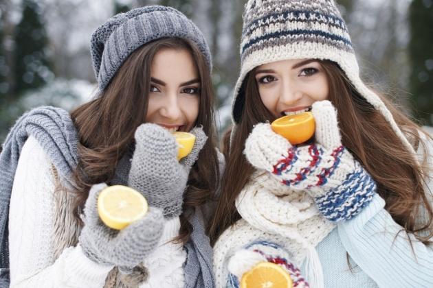 תפוזים וקלמנטינות עשירים בויטמין C