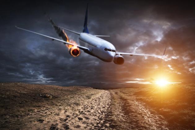 ניצל מהתרסקות מטוס