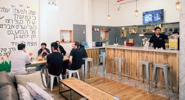 משרדים של חברת וויוורק WEWORK ב תל אביב
