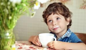 אלרגיות ילדים לחלב. אילוסטרציה