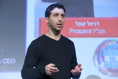 ועידת MIND THE DATA 2016 דניאל קופל מנכ״ל Prospera - Prospera גייסה 15 מיליון דולר