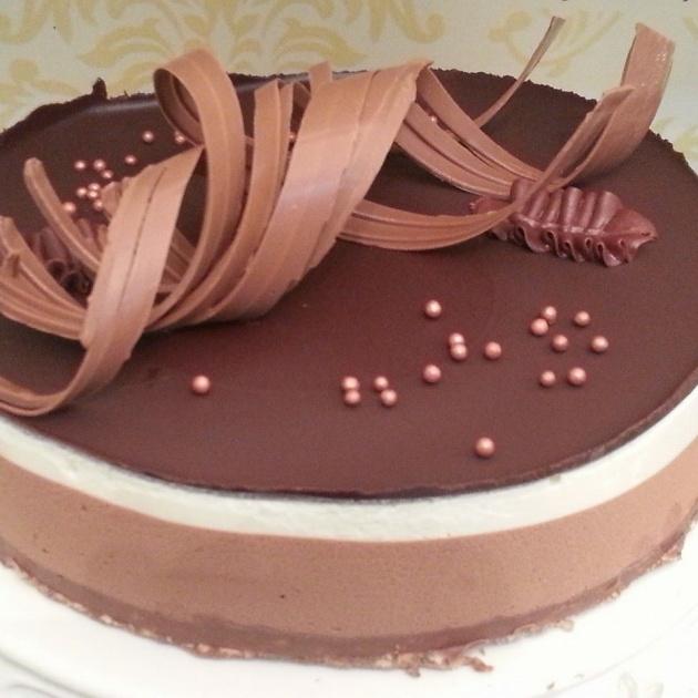 עוגת שוקולד קיצית