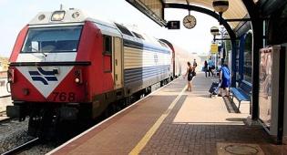 רכבת ישראל רציף רכבת קרון קטר - 62 קטרים חשמליים במיליארד שקל