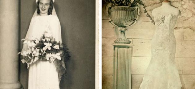 מזכרת מאמא - מרגש: מצאה 'במקרה' את שמלת הכלה האבודה של אמה
