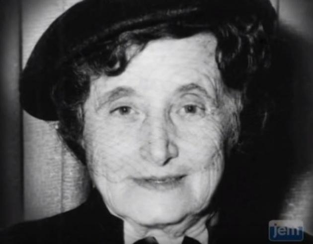 צפו: מפגש נדיר עם אמו של הרבי מליובאוויטש