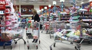 קניות סופר עגלה עגלות נטושות אשראי - צוק איתן הוביל להתאוששות קלה במכירות ענף המזון ביולי