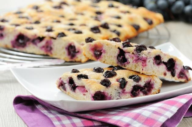 לחם איטלקי מתוק עם ענבים