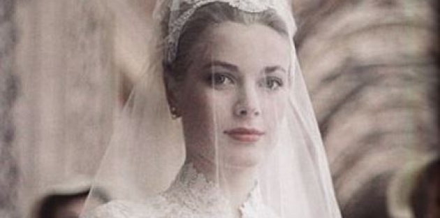 שמלת הכלה היפה בהיסטוריה. גרייס קלי. - היום לפני: שמלת הכלה היפה ביותר בהיסטוריה