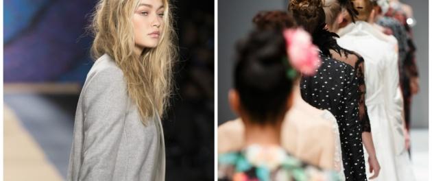 שבוע האופנה.. - שבוע האופנה של ג'יגי' חדיד וטומי הילפיגר