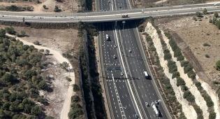 כביש 6 מבט מלמעלה - נדחתה ייצוגית של נהג שנקלע לעומסים בכביש