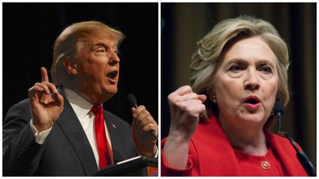 קלינטון VS טראמפ