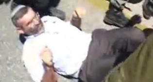חבר-הכנסת בן-ארי נעצר (צילום: ערוץ שבע)