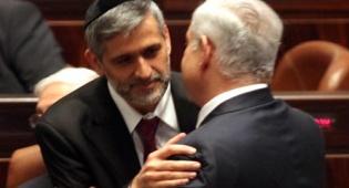 להדוף הלחץ. ישי עם ראש-הממשלה (צילום: פלאש 90)