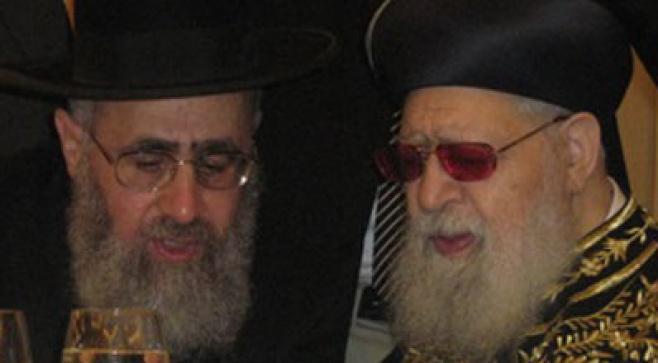 """הרה""""ג הרב יצחק יוסף שליט""""א. צילום: יעקב ישראלי"""