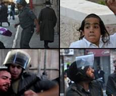 המהומות בירושלים, הערב (צילומים: פלאש 90)