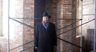 הרב משה תמרין - רוסיה: בית-כנסת חדש בעיר מלחובקה