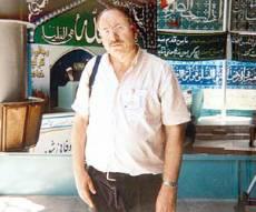 גדעון קוץ בטהרן. צילום: ארכיון