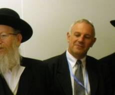 הרב ליצמן בז´נבה, היום (צילום: כיכר השבת)