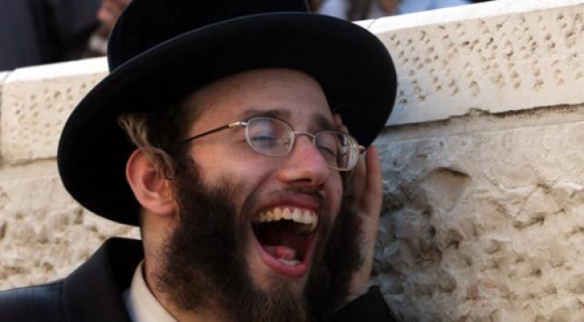 שבעי-רצון. הפגנה בירושלים (צילום: פלאש 90)