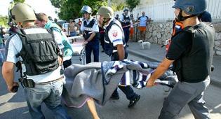 המהומות בעכו בתחילת השנה. צילום: פלאש 90