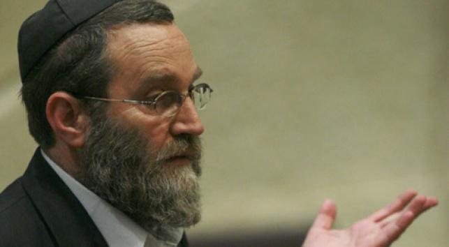 חבר-הכנסת גפני (צילום: פלאש 90)