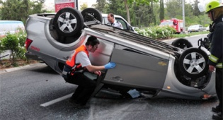 תאונת דרכים. צילום: פלאש 90 - לנהוג בחוכמה אחרי תאונה, המדריך!