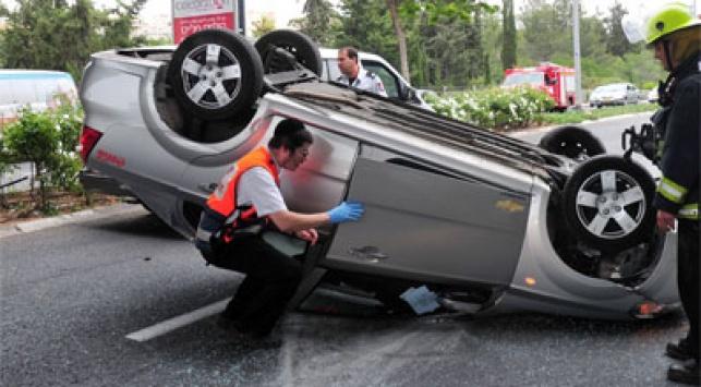 תאונת דרכים. צילום: פלאש 90