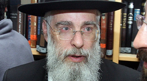 הרב יעקב שפירא. צילום: מאיר אלפסי, שטורעם