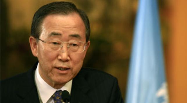 """מזכל האו""""ם באן קי מון. צילום: פלאש 90"""
