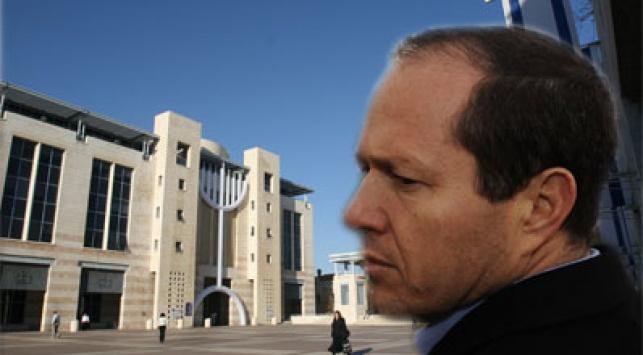 ברקת על רקע כיכר ספרא. צילום: פלאש 90