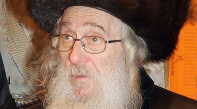 """הרב מאיר ברנסדורפר זצ""""ל. צילום: יהודה פרכוביץ'"""