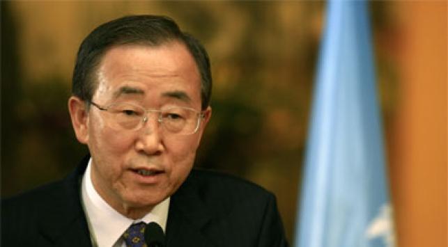 """מזכ""""ל האו""""ם בן קי-מון. צילום: פלאש 90"""
