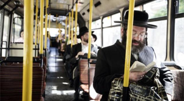 אוטובוס, יש בעיה הלכתית? צילום: פלאש 90