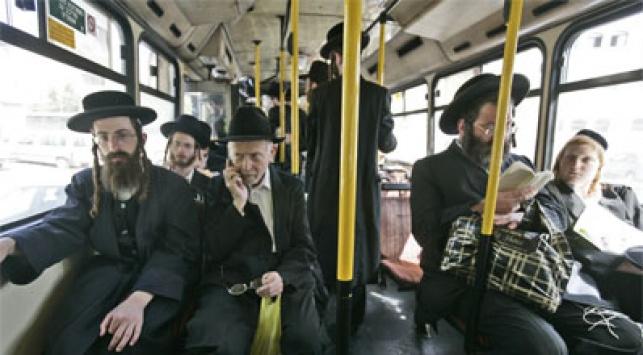 אוטובוס בקו מהדרין. צילום: פלאש 90