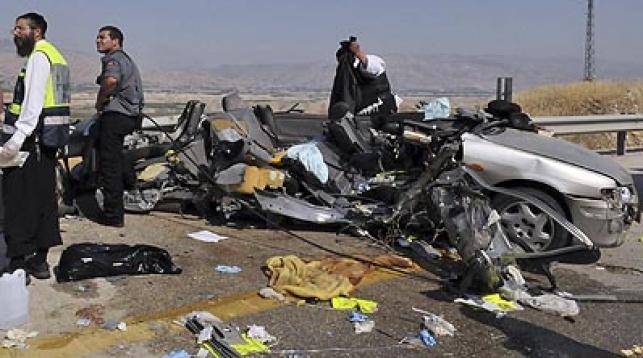 התאונה הקשה אתמול. צילום: פלאש 90